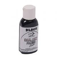 Краска для ногтей Premium* Nail-Art* Water series (чёрная)