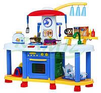 Детская игровая интерактивная кухня ZB-6006A НАЛИЧИЕ 30 элементов