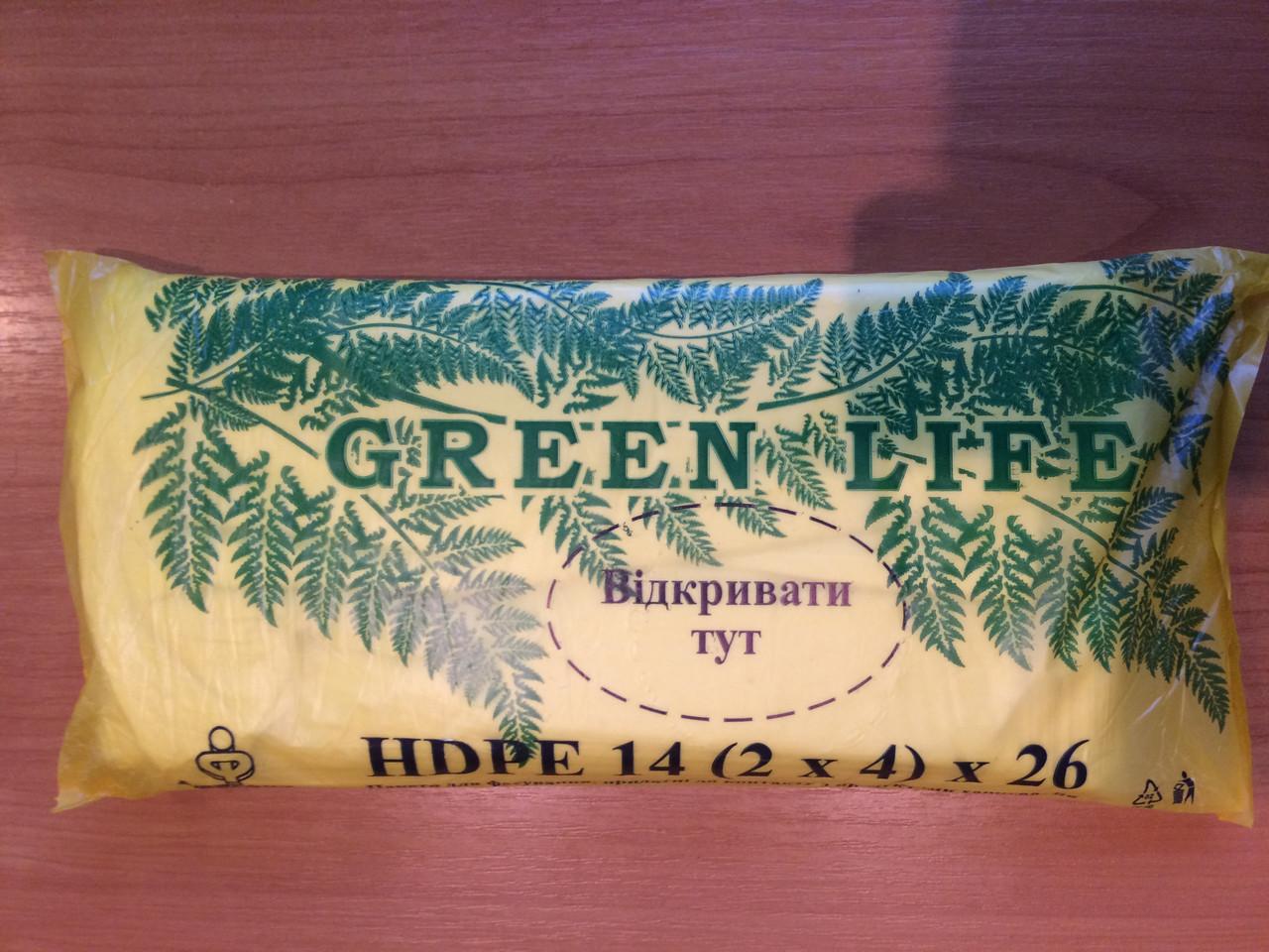Фасувальний пакет 14*26 см Green Life Фаворит тисячник (Грін Лайф)