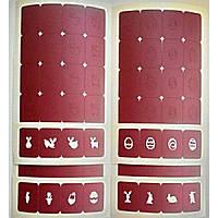 Трафареты-наклейки для nail-art Пасха