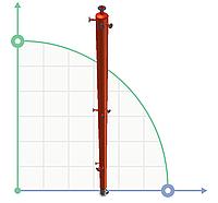 Колонна укрепляющая для увеличения концентрации этанола