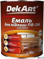 Эмаль ПФ-266 для пола красно-коричневая 2,8 кг