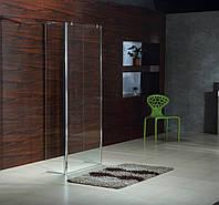 VOLLE Стенка 400*1900 мм, каленное прозрачное стекло 8 мм