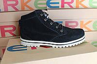 Женские ботинки Erke черные демисезон осень - зима