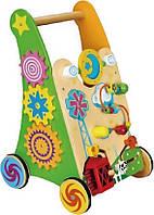 Детские ходунки-каталка Viga Toys (59460)