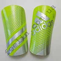 Щитки футбольные Adidas салатовые