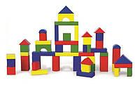 Набор деревянных кубиков Viga Toys 50 шт (59542)