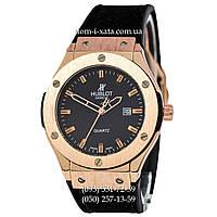Мужские наручные часы Hublot 882888 Classic Fusion Black-Gold-Black, Хублот классик