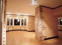 Оздоблення стін всередині будинку