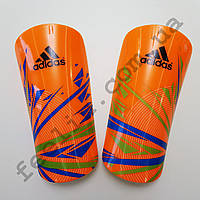 Щитки футбольные Adidas II оранжевые