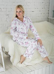 Женские пижамы, комплекты для дома, отдыха