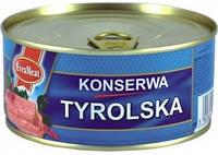 Консерва мясная Evrameat Tyrolska 300г
