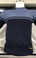 Мужской зимний свитер из рельефной вязки - Турция (разные цвета)