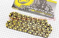Цепь привода колеса 428Н*136L GOLD на мотоцикл VIPER -125-J