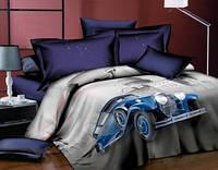 Комплект постельного белья  Ретро. Двуспальный. Сатин 3Д