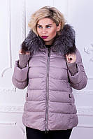 Куртка женская большого размера короткая  Damader №1737