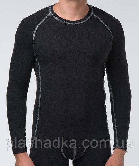 Термоджемпер мужской (цвет черный) / Джемпер (термоджемпер) мужской, теплый