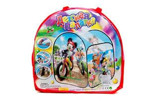 Детская палатка с переходом