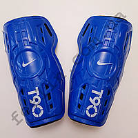 Щитки футбольные Nike T90 детские (синие)