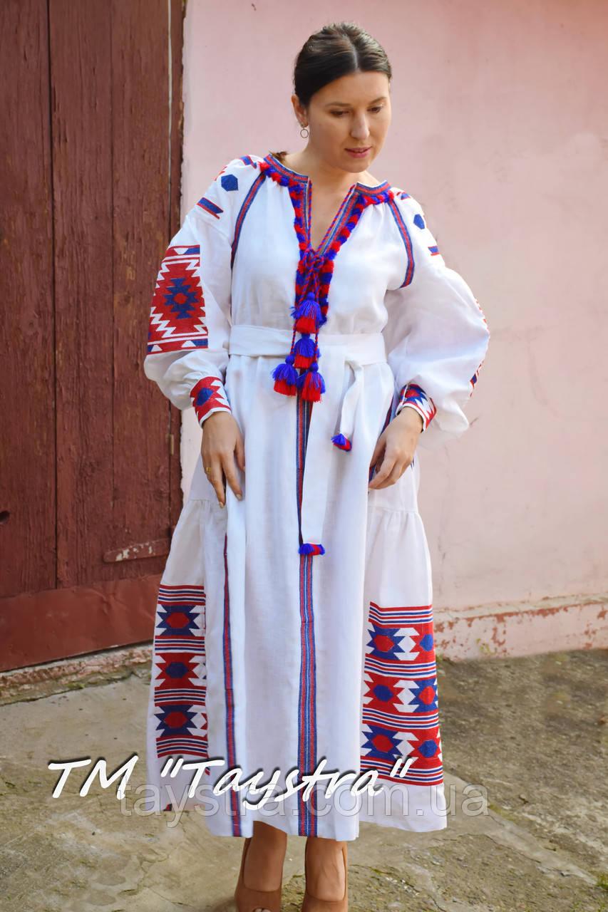 af86e844d0b059 Бохо платье женское вышитое бохо, вышиванка лен, этно, стиль бохо шик,  вишите