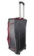 Вместительная дорожная сумка на колесах 60 см
