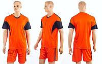 Футбольная форма Progress CO-3437-OR(XL) (полиэстер, р-р XL-50-52, оранжевый, шорты оранжевые), фото 1