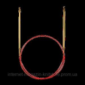 Спицы Addi 40 см/4 мм круговые с удлиненным кончиком
