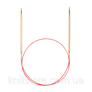 Спицы Addi 40см/2.5мм круговые с удлиненным кончиком