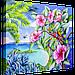 """Схема для вышивания бисером на подрамнике """"Море"""", фото 2"""