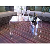 Стол прозрачный 650х500х500 мм