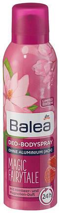 Деоспрей Balea Magic Fairytale 200мл c ароматом малины и магнолии, фото 2