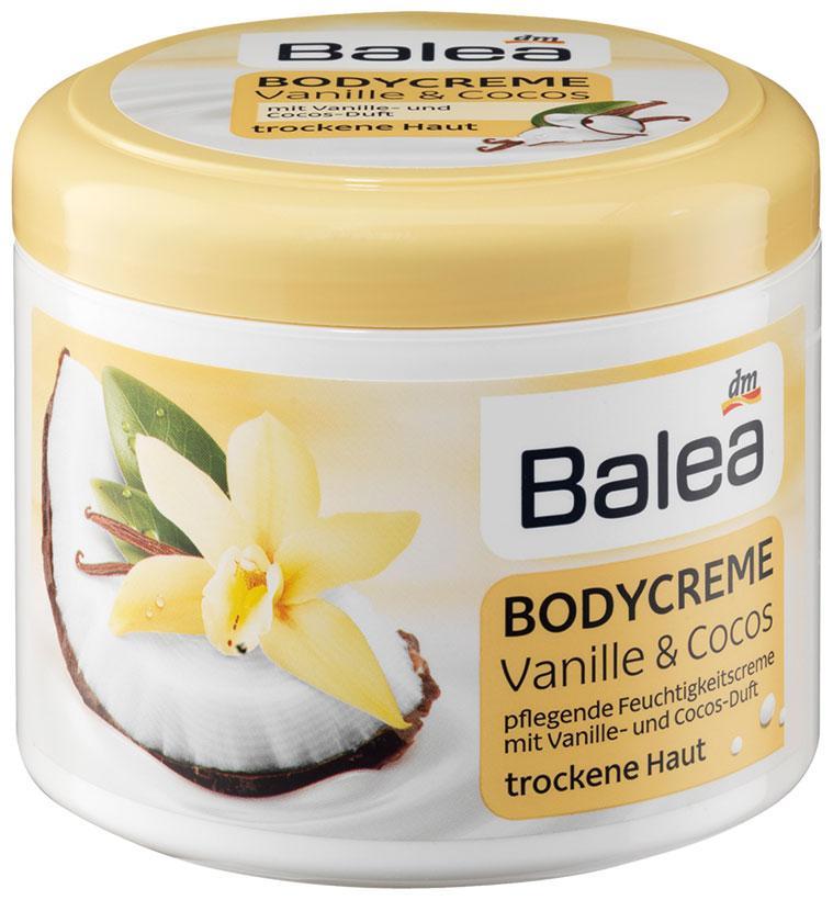 Крем для тела Balea ваниль + кокос 500мл