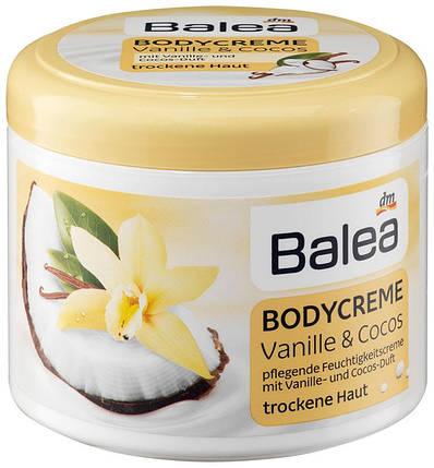 Крем для тела Balea ваниль + кокос 500мл, фото 2