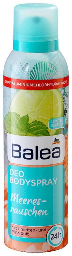Деоспрей Balea Meeresrauschen 200мл c ароматом лимона и мяты
