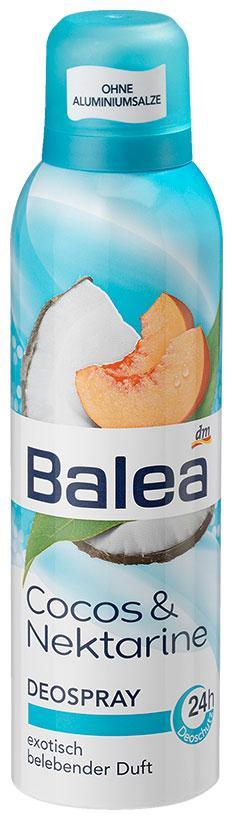 Деоспрей Balea с ароматом кокоса 200мл
