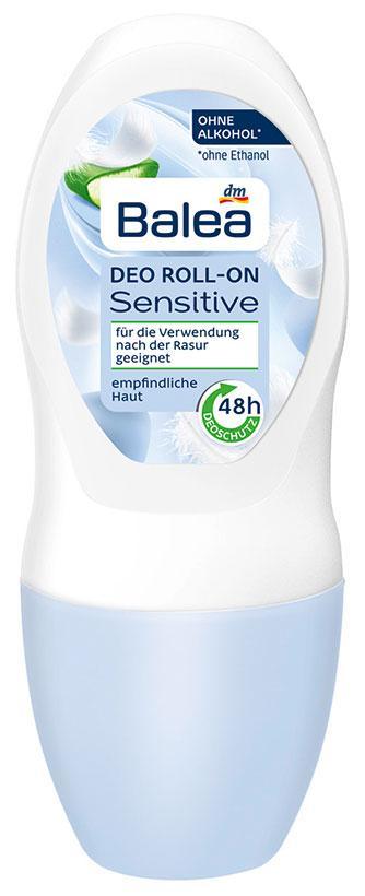 Роликовый дезодорант Balea Sensitive алоэ вера 50мл