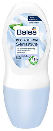 Роликовый дезодорант Balea Sensitive алоэ вера 50мл, фото 2