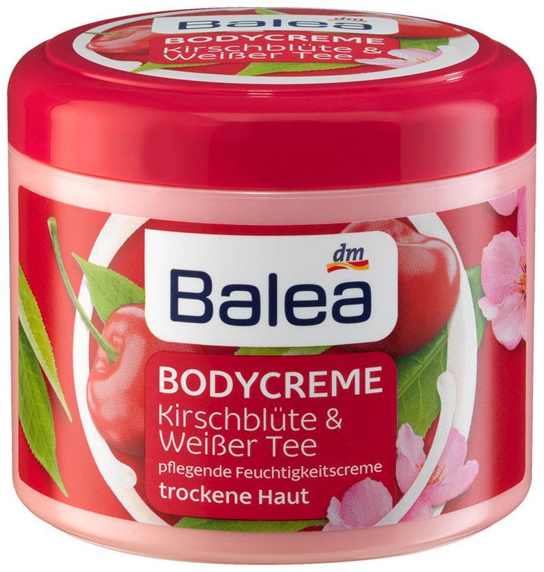 Крем для тела Balea вишневый цвет и белый чай 500мл