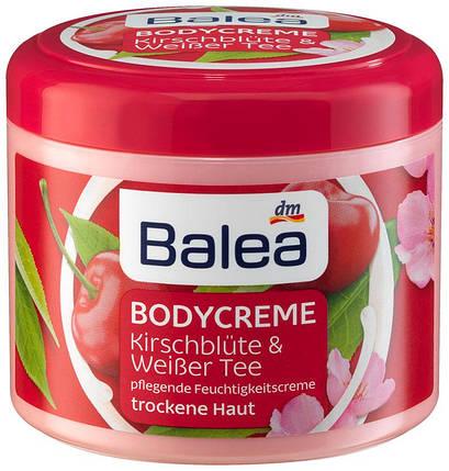 Крем для тела Balea вишневый цвет и белый чай 500мл, фото 2