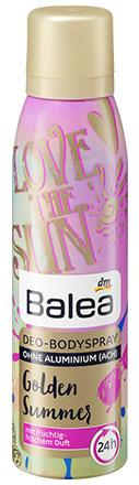 Деоспрей Balea Golden Summer 150мл