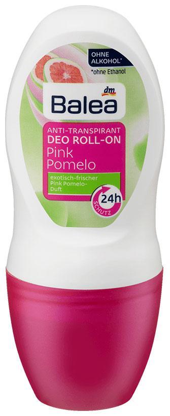 Роликовый дезодорант Balea Pink Pomelo 50мл