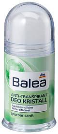 Твердый дезодорант кристалл Balea Sensitive 100г
