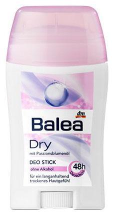 Твердый дезодорант Balea Dry 50мл стик