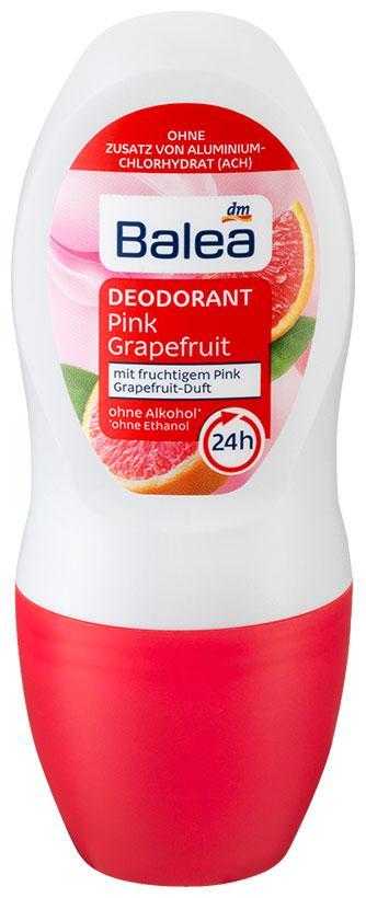 Роликовый дезодорант Balea Pink Grapefruit 50мл