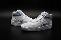 Кроссовки Nike Air Force 1 Flyknit найк аир форс реплика