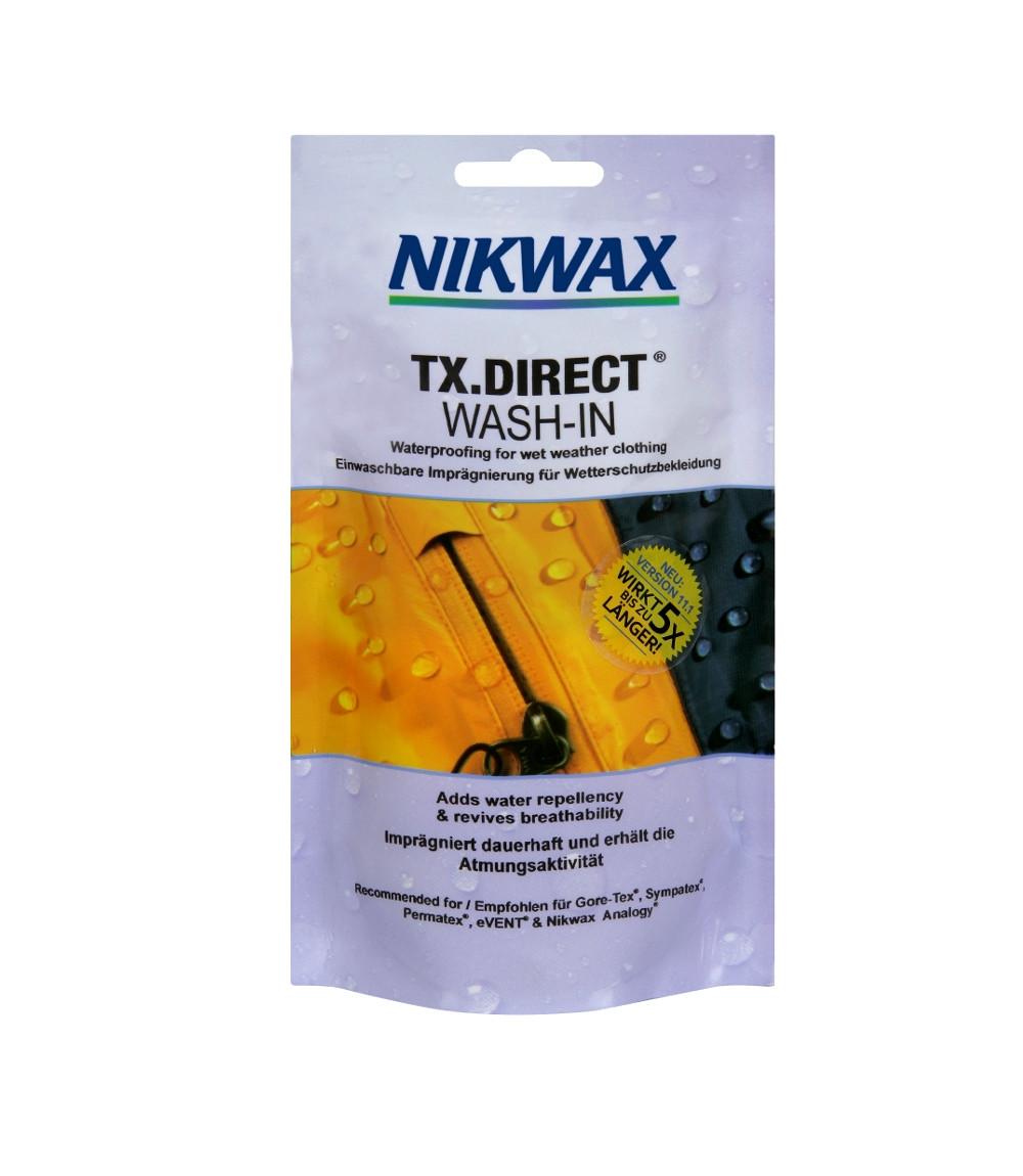 Пропитка для мембран Nikwax TX. Direct Wash-in 100ml