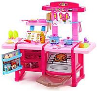 Большая игровая кухня для девочек, холодильник, духовка 3 +