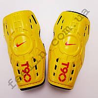 Щитки футбольные Nike T90 детские (желтые)
