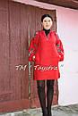 Вышитая туника красное платье лен, вышиванка бохо стиль , Bohemian, этно, туника в Бохо-стиле , фото 4