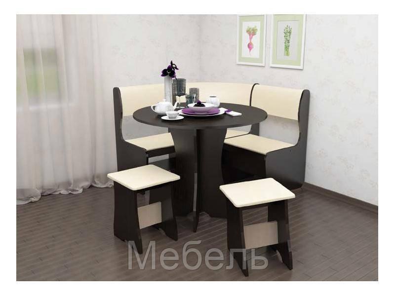 Кухонный уголок Тип 1 Мини Феникс 1050*1050*850